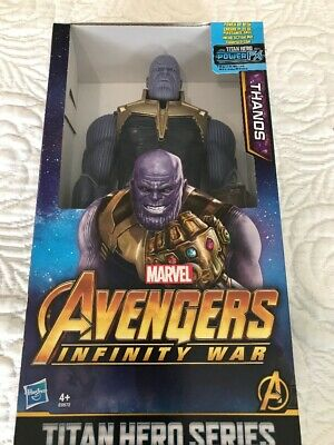 "Marvel Avengers Infinity War Titan Hero Series Thanos 12"" Action Figure"