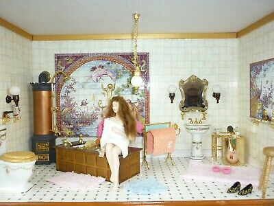 Puppenhaus / Dollhouse / Badezimmer / Bathroom
