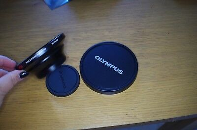 olympus camedia wide extension lens pro  wcon -08b  (62mm -105 mm)