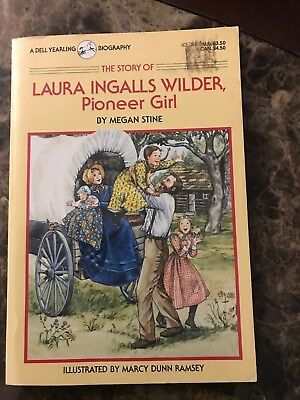 Little House Paperback Books - The Story of Laura Ingalls Wilder Pioneer Girl