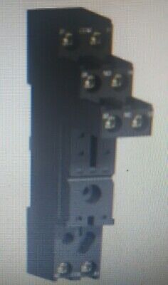 Schneider RSZ SOCKET 12A 8-Pins Separate Contact, Suit RSB Relays,DIN Rail Mount