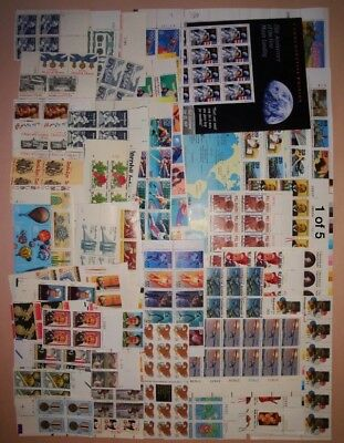 Lot of Face Value $10.00 MINT US Postage Stamps, Vintage Packet MNH unused