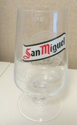 New Cerveza San Miguel Pint Glass - pint chalice