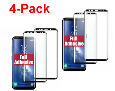 Full Glue Case Friendly Samsung Galaxy S8/S9/S10 Tempered Glass Screen Protector
