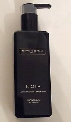 The White Company Noir Shower Gel 300ml