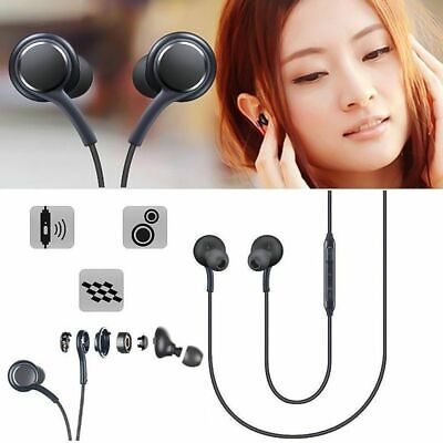 SAMSUNG For AKG Earphones Earbuds S9+ Note 8 S9 Galaxy Mic HEADSET In-ear