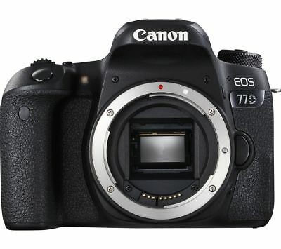 Canon Eos 77D Dslr Camera - Body Only New Sealed Uk