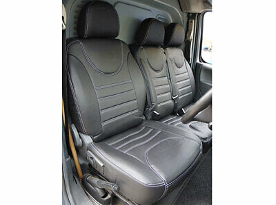 Faux Leather 650g Fiat Scudo 2007-2016 Van Seat Covers Fully Tailored Set 2