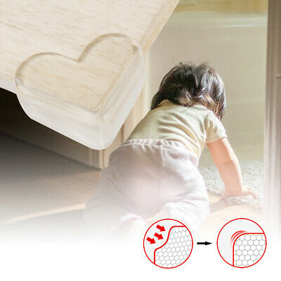 4/8X Baby Kid Safety Transparent Protector Furniture Edge Table Corner Protector