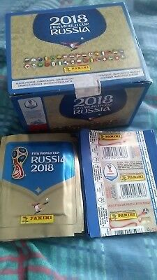 World Cup 2018 Stickers Panini FIFA Football Russia 1,3,5,10,20,25 packs