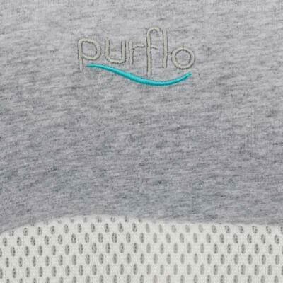 Purflo Purair Breathable Nest Cover / Pillow Case - Marl Grey