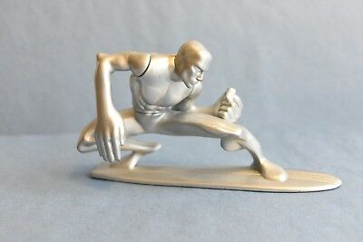Burger King Meal Toy Silver Surfer From 2007