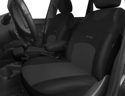 Vauxhall Astra Vectra Insignia Black Grey 2 Quality Front Car Seat Covers