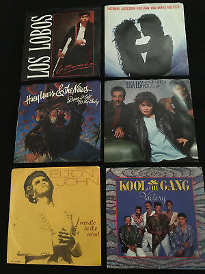 45 Rpm Records - Any 10 For $ 15.00 Free S/H