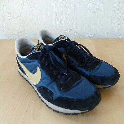 size 40 c40a6 c3422 Nike Air Pegasus 83 Mens Shoes Size 11 Navy Blue Yellow 2008 326843-471 Rare