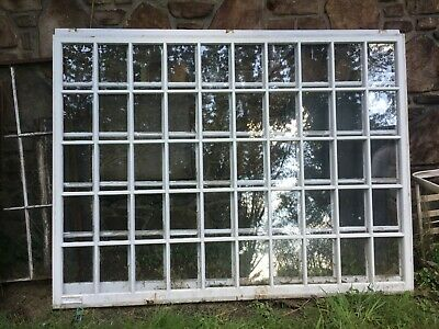 "VTG ARCHITECTURAL SALVAGE  Windows wood large 88"" x 66"" farmhouse Pgh delivery"