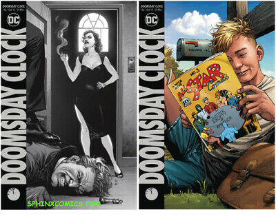 Doomsday Clock # 11 of 12 Variant Cover NM DC