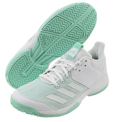 098f6b505 adidas LIGRA 6 Indoor Shoes Unisex Volleyball Badminton Shoe Racket White  BC1035