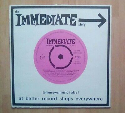 THE IMMEDIATE STORY Vinyl LP Small Faces, Amen Corner, The Nice, Rod Stewart, EX