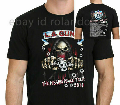 LA-Guns-The-Missing-Peace-Tour-2018 T-Shirt Size-S To 5XL