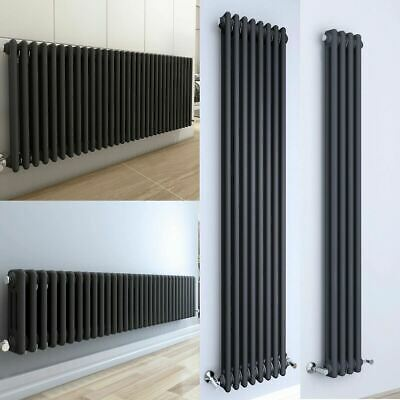 Horizontal Vertical Traditional Radiator Column Central Heating Anthracite Rads