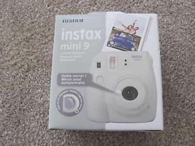 Brand New Fujifilm Instax Mini 9 Instant Camera (Smoky White)