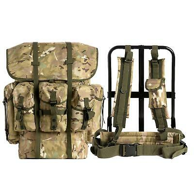 73a734a0b461 Military Surplus Alice Pack with Suspender Strap and Frame 1000D Nylon  Multicam
