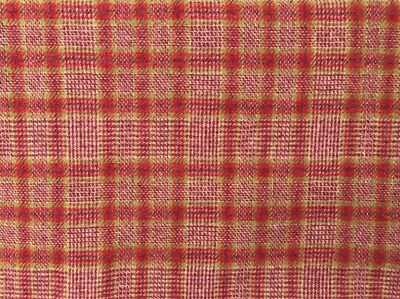 """HAND DYED RUG HOOKING WOOL Mill-Dyed APPLIQUE """"STRAWBERRY DAIQUIRI"""" ONE YARD"""