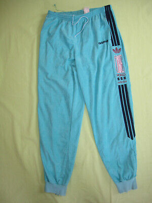 PANTALON ADIDAS ONE World 80'S Vert Velour Survetement