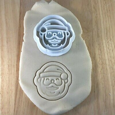 Hat Elf Santa Woolly Shape Cookie Cutter Biscuit Pastry Fondant Xmas XM16