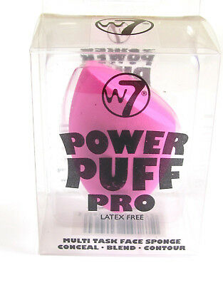 W7 Power Puff Pro Latex Free Sponge - Conceal, Blend or Contour - Large Pink
