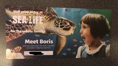 Half Price 50% Off Entry Sealife London For Between 1 And 4 People! Discount