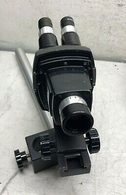 Bausch & Lomb 0.5X Microscope Head And Holder 10X Wide Field Eye Pieces