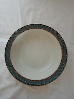 DENBY LUXOR RIMMED DESSERT/CEREAL BOWL 7 INCHES/17.5 CM Small chips