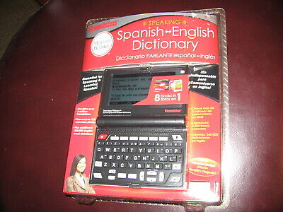 FRANKLIN MERRIAM WEBSTER Speaking Spanish English Dictionary Talking