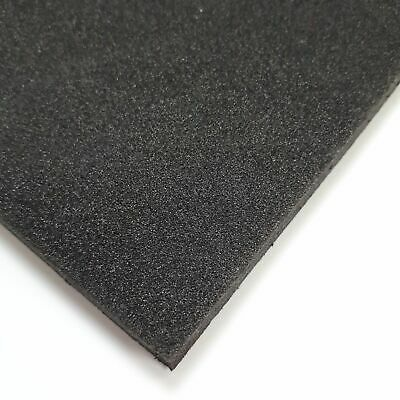 BLACK PLASTAZOTE LD45 Polyethylene Foam Sheet Various Sizes - Discontinued  Sizes
