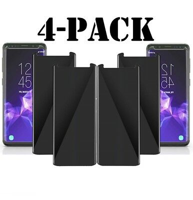 Privacy Screen protector 3D Tempered Glass For Samsung Galaxy S8 S9Plus / Note 9