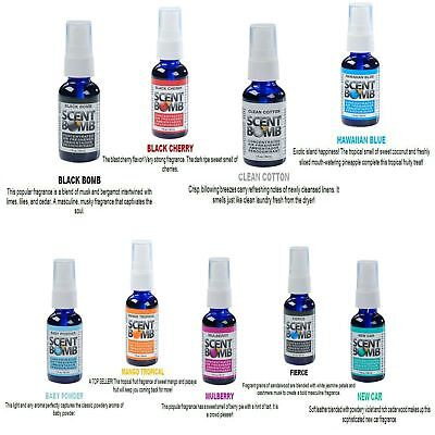 *BUY 2 GET 1 FREE* SCENT BOMB 100% Concentrated Air Freshener Spray (6 Scents)