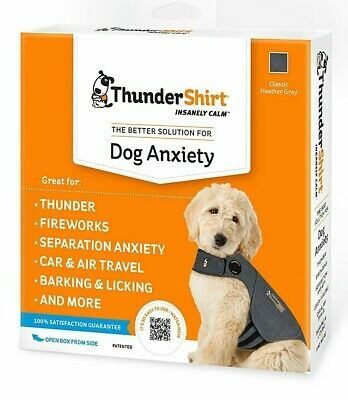 Thundershirt Dog Anxiety Solution Small Solid Gray (HGS-T01)