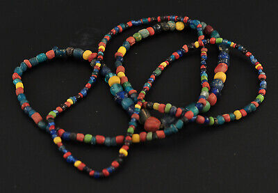 Multicolour glass and clay beads, Pyu, Burma (Myanmar), Thailand (Dvaravati)