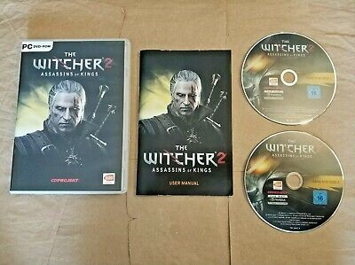 The Witcher 2:Assassins of Kings,PC,DVD,VGC,2011,Game,Complete,2-Disc,CDProject.