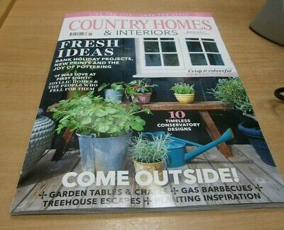 Country Homes & Interiors magazine MAY 2019 Bank Holiday Projects, Garden Tables