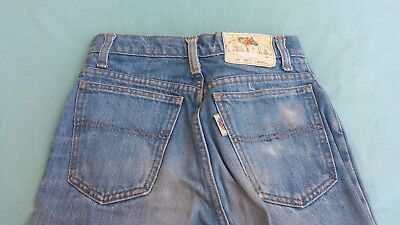 Jeans Fruit Of The Loom Taglia W26 L36 100% Cotone Anni '80 Vintage