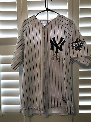 51be26b7 Roger Clemens Signed New York Yankees Jersey w/1999 World Series patch & COA