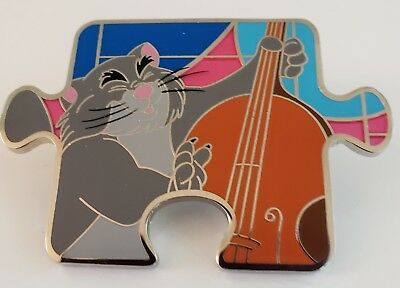 DISNEY THE ARISTOCATS BILLY BOSS CHARACTER CONNECTION PUZZLE MYSTERY LE1100 Pin