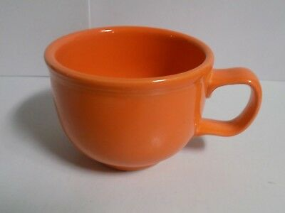 """Fiesta Retired """"Tangerine"""" Jumbo Cup with Handle....1st Quality...New"""