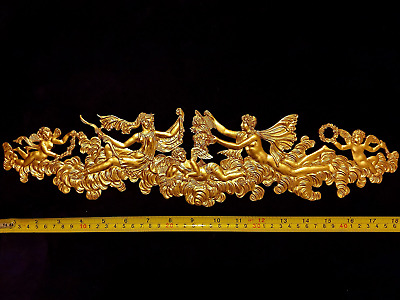 Decorative Moulding Plaque Antique Gold Gilt Or White Resin Wall Decoration