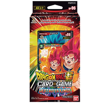 Dragon Ball Super Card Game Destroyer Kings SP06 Special Pack Bandai