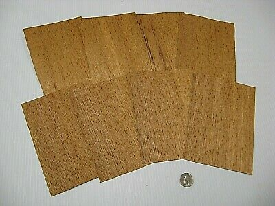 1 Lot Of 8pcs Spanish Cedar Raw Veneer Shorts, Lot #1563