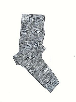 7635364292488 First Kick Maternity Cozy Leggings Gray w/ Crosshatch Lower Calves One Size  Perf